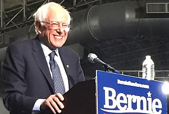 Bernie Sanders 2020 presidential campaign - Sanders at his second presidential rally at Navy Pier in Chicago, March 2019