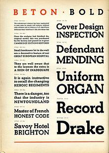 Slab serif - Wikipedia