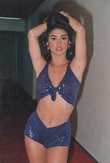 Bibi Gaytán Mexican actress
