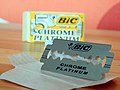 Bic Chrome Platinum Safety Razor Blade (13945104816).jpg