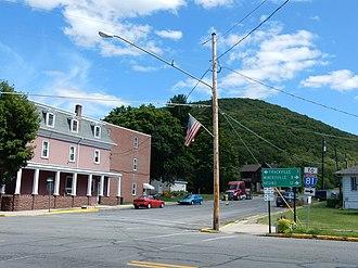 Gordon, Pennsylvania - Image: Biddle St, Gordon PA 03