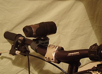 Sousveillance - Cameras can easily be mounted on bicycles, to record sports activities — or record acts of road rage.