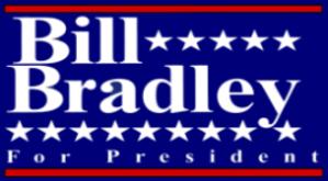 Bill Bradley presidential campaign, 2000 - Image: Bill Bradley logo