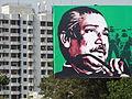 Billboard of Sheikh Mujibur Rahman with High-Rise Backdrop - Sylhet - Bangladesh (12988453535).jpg
