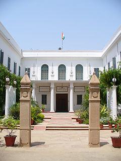 Gandhi Smriti museum and death place of Mahatma Gandhi, in New Delhi, India