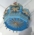 Biserica unitariana din Simonesti - coronamentul amvonului.jpg