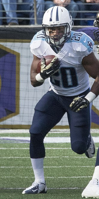 Bishop Sankey - Sankey with the Tennessee Titans in 2014