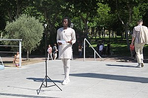 Bisi Alimi - Bisi Amini at WorldPride Madrid