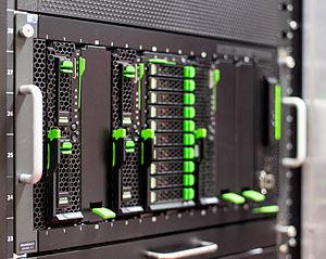 Primergy - Rack mounted blade server chassis PRIMERGY BX400