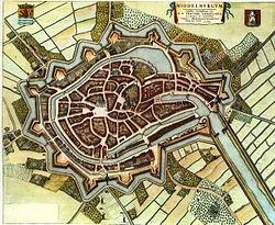 Blaeu 1652 - Middelburg