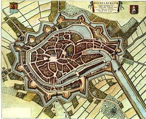 Middelburg - Middelburg in 1652