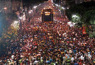 annual festival in Salvador, Brazilia