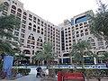 Blue Diamond Resort hotel from the pool, Fujairah.jpg