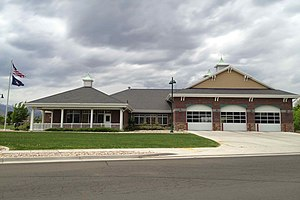 Bluffdale, Utah - Bluffdale Fire Station in 2013