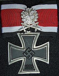 Knight's Cross with Oak Leaves, Swords and Diamonds