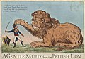 Bodleian Libraries, A gentle salute from the British lion.jpg