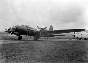 No. 214 Squadron RAF - An electronic warfare B-17 Flying Fortress Mk III of 214 Squadron, August 1944.