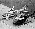 Boeing UTTAS sits beside UH1H Huey.jpg