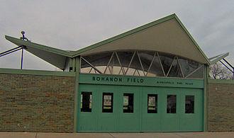 Bohanon Park - Bohanon Park Facilities Building