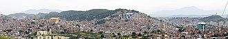 SuperVia - Image: Bondinho do Complexo do Alemão Panorama 06 2014
