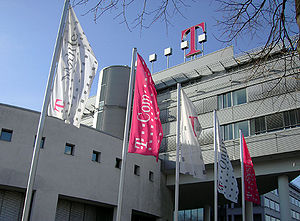 Timotheus Höttges - Bonn headquarters of Deutsche Telekom