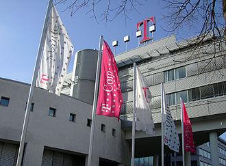 Timotheus Höttges - Bonn headquarters of Deutsche Telekom