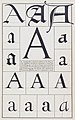 Book Illustration, The Alphabet- Fifteen Interpretative Designs Drawn and Arranged with Explanatory Text and Illustrations, The Letter A, 1922 (CH 68766163).jpg