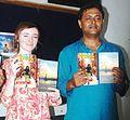 Book Release photo of Tess Joyce & Arnab jan Deka.JPG