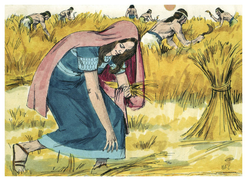 File:Book of Ruth Chapter 2-1 (Bible Illustrations by Sweet Media).jpg
