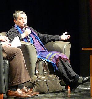 Lyudmila Ulitskaya - Lyudmila Ulitskaya as guest of honour at the 2009 16th International Book Festival, Millenáris, Budapest