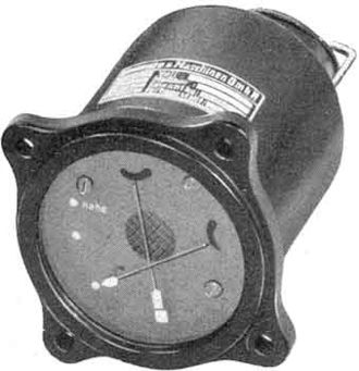 Night fighter - Luftwaffe instrument landing system indicator, built 1943