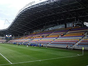 Borisov Arena - Image: Borisov Arena Stands 3