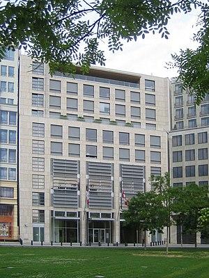 Canada House (Berlin) - Image: Botschaft Kanada