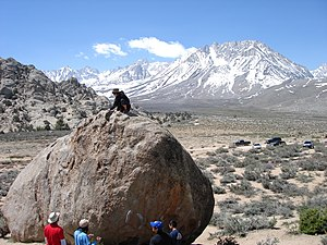 The Buttermilks - Image: Bouldering at The Buttermilks