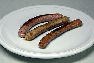 Chipolata - Chipolata-type sausages