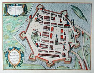 Private town - Zamość in the 17th century
