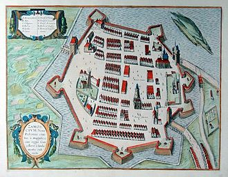 Ideal town - Zamość in the 17th century