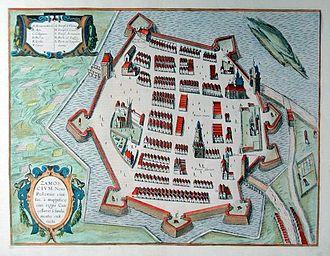 Zamość - Zamość in 1617