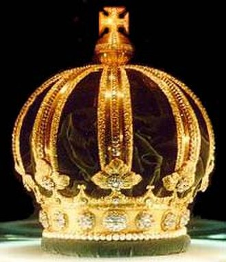 Imperial Museum of Brazil - Image: Brazilian Imperial Crown 2