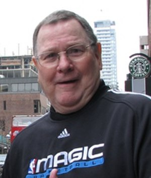 Brendan Malone - Malone in 2008 as Orlando Magic assistant coach