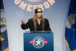 Bret Michaels speaks during the Operation Homefront sixth annual Military Child of the Year Award event in Arlington, Va., April 10, 2014 140410-D-KC128-446.jpg