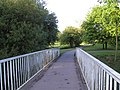 Bridge over Whiteknights Lake - geograph.org.uk - 3412.jpg