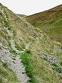 Bridleway up Cwm Gwrach, Powys - geograph.org.uk - 1529627.jpg