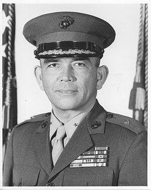 Vicente T. Blaz - Blaz as a Marine
