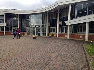 Brigshaw High School - Main Building reception