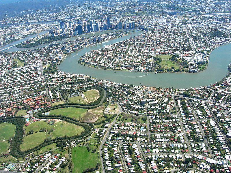 WTA BRISBANE 2013 : infos, photos et vidéos - Page 2 800px-Brisbane_aerial_view_06