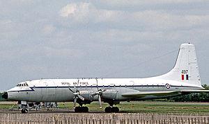 No. 511 Squadron RAF - Bristol Britannia C.1 of 511 Squadron in 1976.