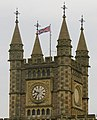 Bristol Temple Meads Railway Station - the clock - geograph.org.uk - 572757.jpg