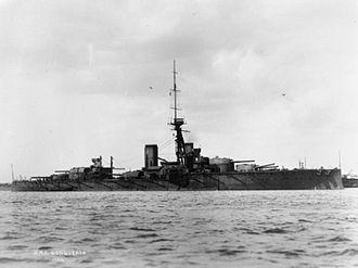 HMS Conqueror (1911) - Image: British Battleships of the First World War Q38540