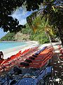 British Virgin Islands — Jost van Dyke — White Bay (deckchairs).JPG
